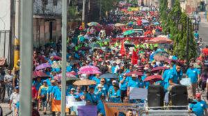 Trabajadores en Honduras