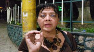 Madre de Rommel Herrera