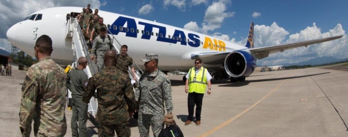 Llegan a Honduras 300 elementos de la marina de EE.UU.