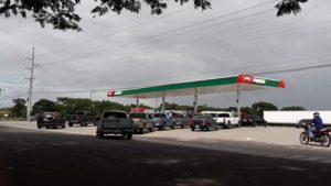 Olancho sin combustible