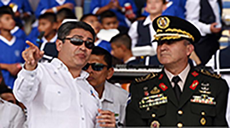 Al jefe de las Fuerzas Armadas