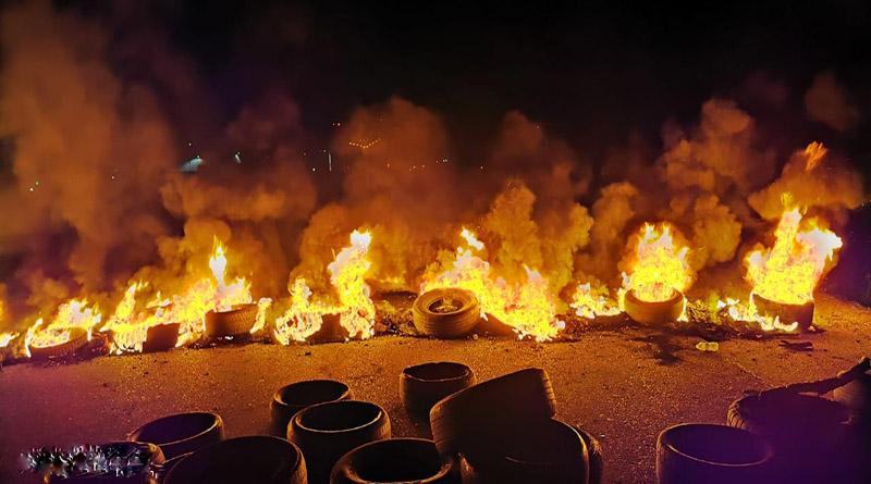 Arde Honduras esta noche