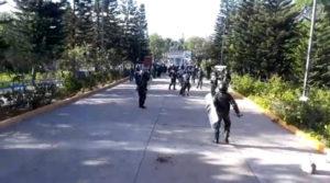 ingreso de la bota militar a la UNAH