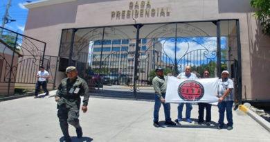 Red latinoamericana de trabajadores respalda lucha de la Plataforma