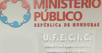 UFECIC demanda renovación del convenio de la MACCIH, aprobación de leyes y reformas para combatir la corrupción