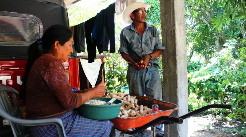campesinos de Honduras