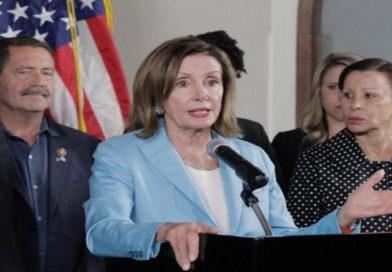 Presidenta del Congreso de EE.UU también pide destituir a Trump