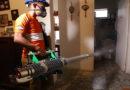 Fundación Terra comienza el ciclo de fumigaciones en zonas prioritarias en la lucha contra el dengue