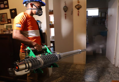 Fundación Terra continúa el ciclo de fumigaciones en la lucha contra el dengue