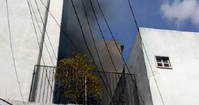 Se incendian comercios en el centro de Tegucigalpa mientras se desarrollaba protesta