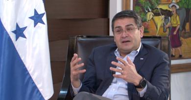 Fiscalía en EE.UU tendría construido un caso por narcotráfico contra presidente de Honduras