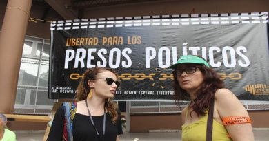 Presos políticos de Honduras se declaran en huelga de hambre