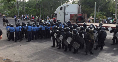 Desmilitarización y retiro de agentes policiales de San Juan Pueblo, Atlántida, exigen Organizaciones de Derechos Humanos