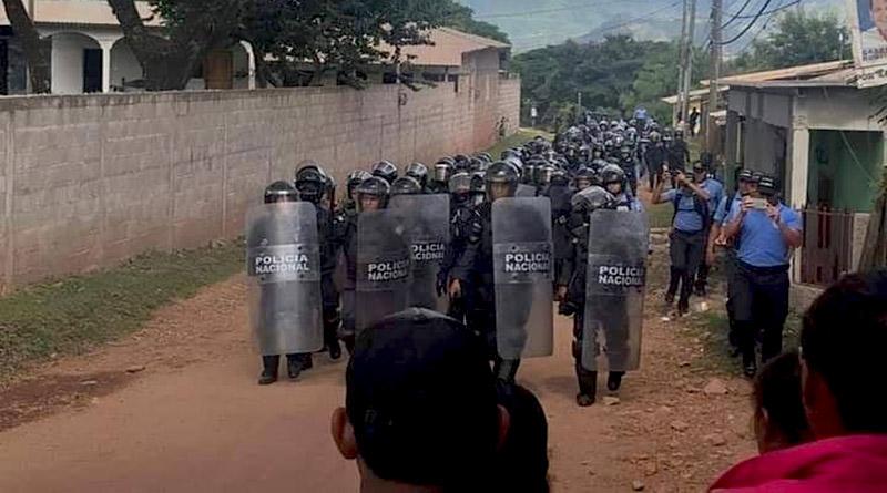 COPA condena la represión policial