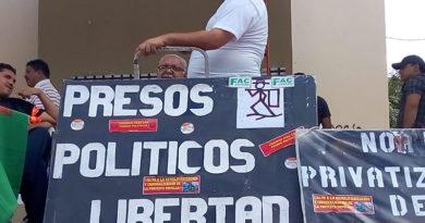 Presos políticos de Honduras se defenderán en libertad