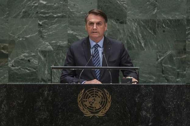 Bolsonaro dice que la Amazonia no es patrimonio de la humanidad