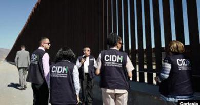 CIDH hace recomendaciones luego de visita a frontera sur de Estados Unidos