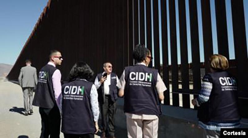 CIDH visita frontera sur de Estados Unidos