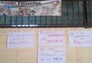 Estudiantes de Filosofía de la UNAH exigen asamblea de estudiantes