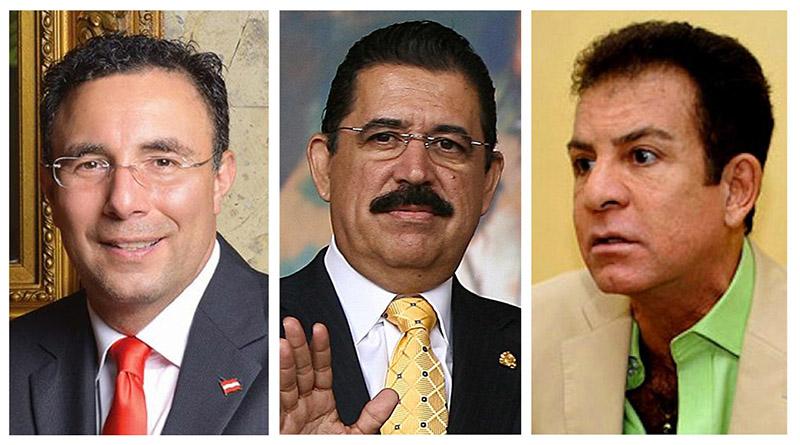 Se reúnen Mel Zelaya, Luis Zelaya y Salvador