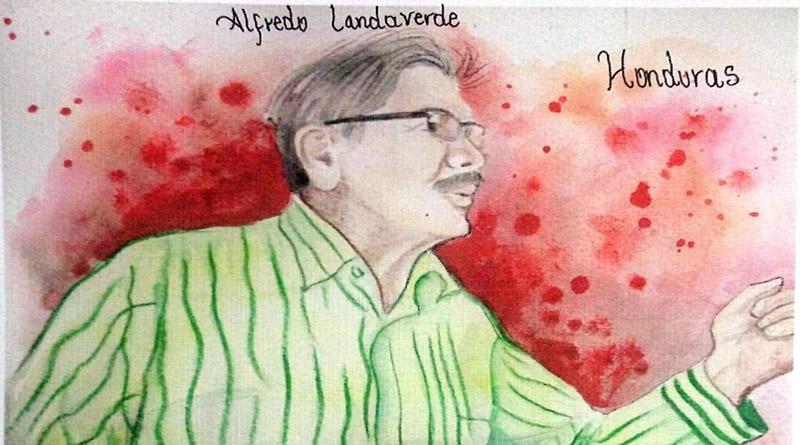El mártir Alfredo Landaverde
