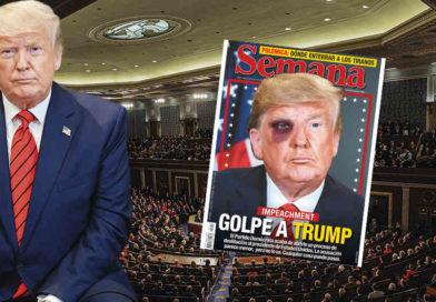 """Donald Trump califica juicio político en su contra como """"golpe de Estado"""""""