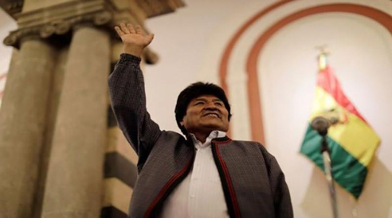 Evo Morales es reelecto