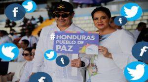 pareja presidencial de Honduras