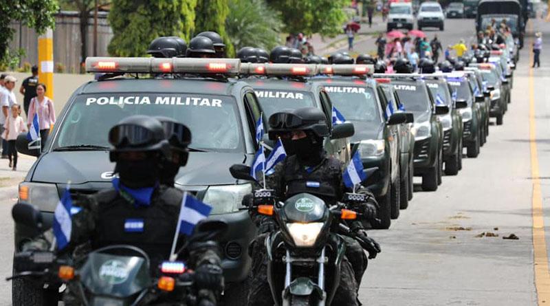 Lucha antimilitarista de Berta Cáceres