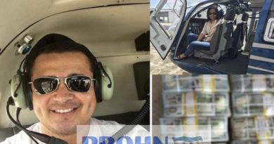 Tony Hernández tenía  fotos de helicópteros y fardos de dólares en su celular