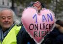 Chalecos Amarillos conmemoran un año de lucha en Francia