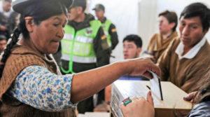 fraude electoral en Bolivia