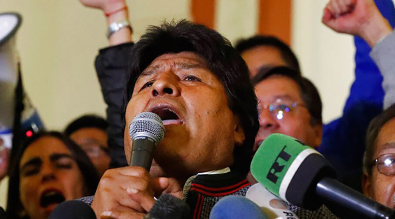 El golpe en Bolivia