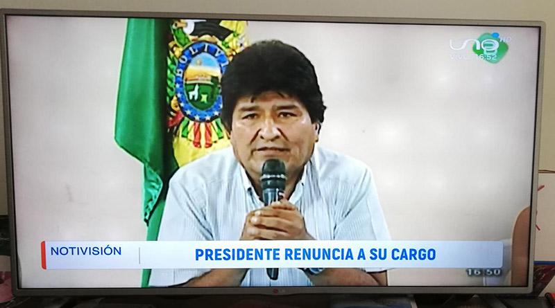 Reflexiones del golpe de Estado en Bolivia