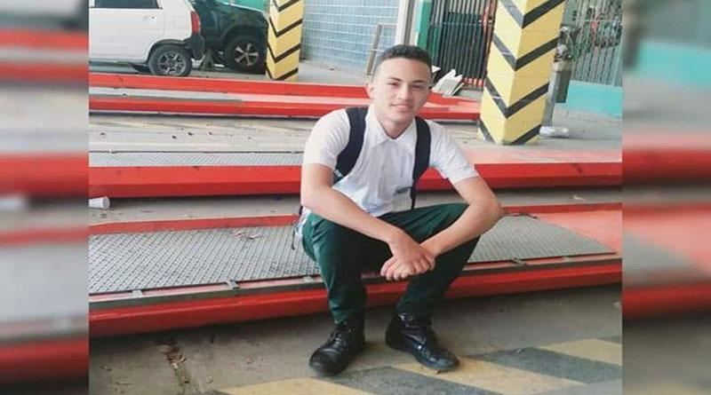 """Aparece asesinado líder estudiantil del Técnico """"Luis Bográn"""""""