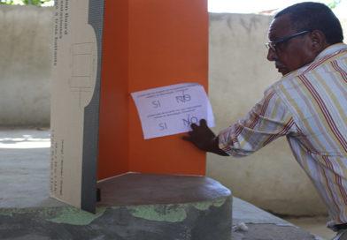 97 % de la población de Namasigüe dice NO a la minería y fotovoltaicas