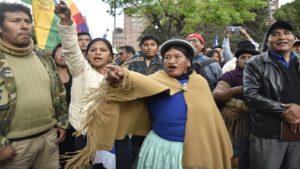 fraude y golpe en Bolivia
