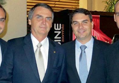 Hermanos Bolsonaro en la mira de la justicia por lavado de dinero