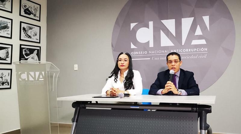 informes de corrupción presentados por el CNA