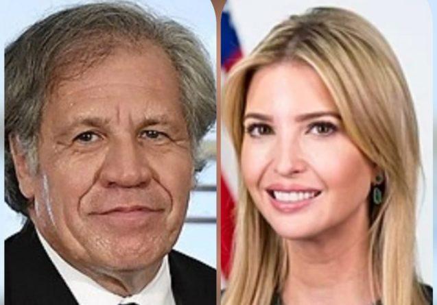 Ivanka Trump y Luis Almagro a Honduras