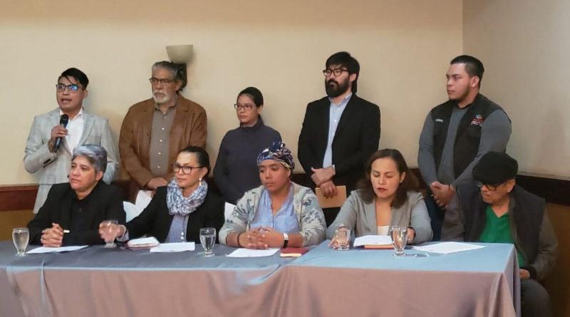 Organizaciones defensoras de DDHH