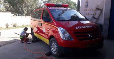 Bomberos de Juticalpa piden llantas usadas para poder operar