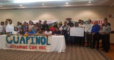 Amnistía Internacional pide que defensores de Guapinolse defiendan en libertad