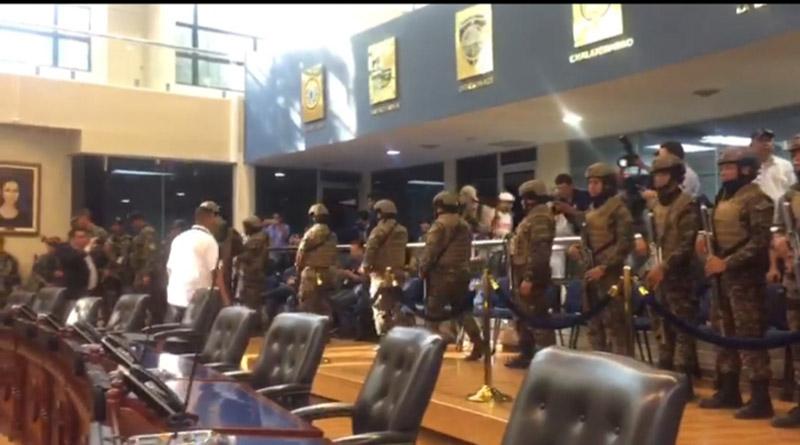 Despliegue armado de Bukele es un retroceso