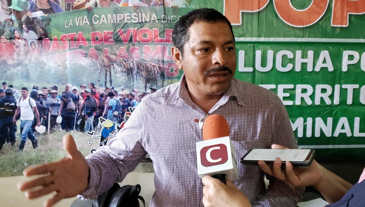 Desalojan a campesinos de tierras en Guaimaca