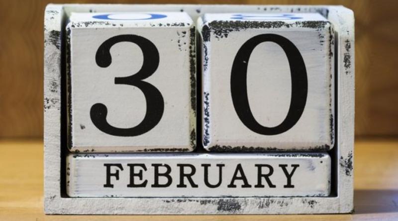 El 30 de febrero existió una vez