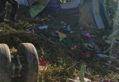 Cae avioneta ambulancia con coca colombiana en Iriona, Colón