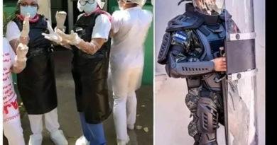 Médicos denuncian que con bolsas plásticas enfrentan pandemia en Honduras