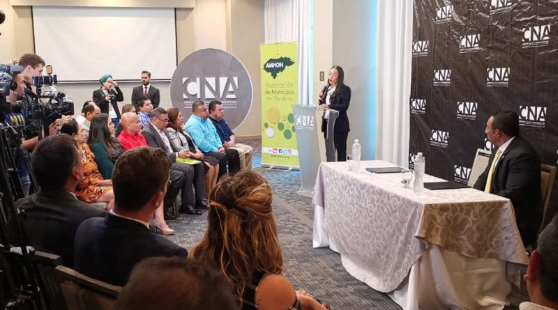 25 alcaldías se comprometen a combatir la corrupción