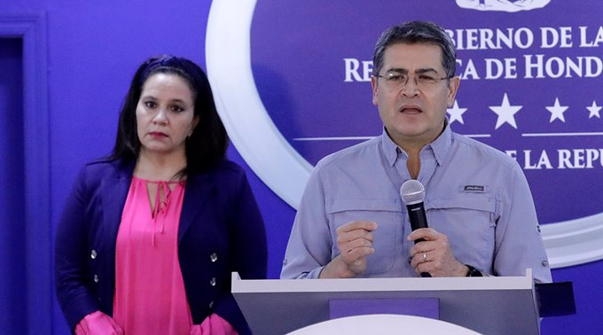 Continuismo Juan Orlando Hernández